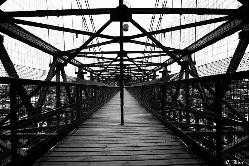 Puente de Vizcaya: Pasarela superior