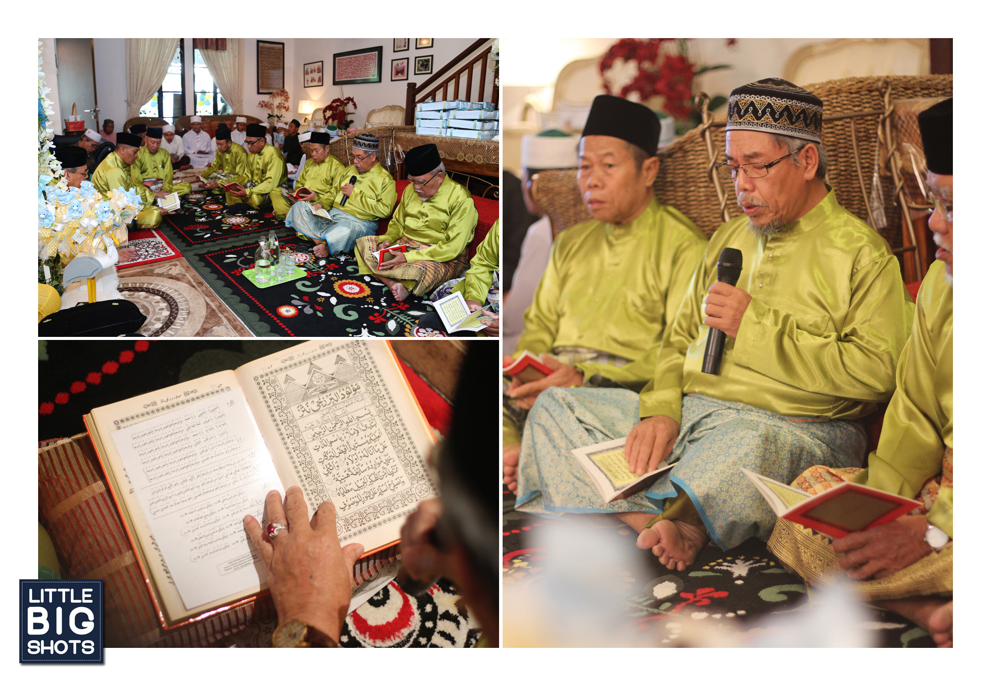 Majlis Tahnik & Kesyukuran Muhammad Ariffin Haidar