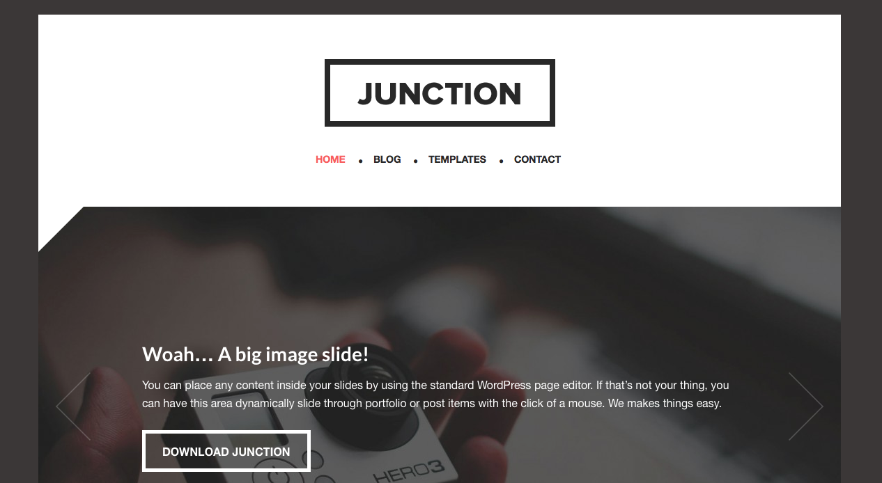 Junction Genesis Child Theme by Themedy
