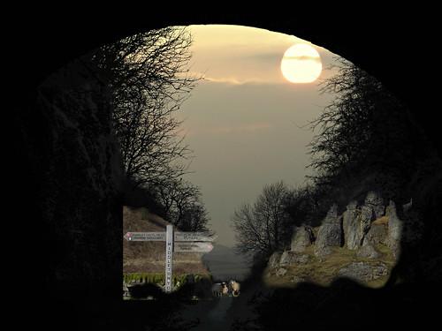 sunset collage sheep derbyshire memories signpost penninebridleway harboroughrocks treesilhouettes apenninejourney memoriesoftheday