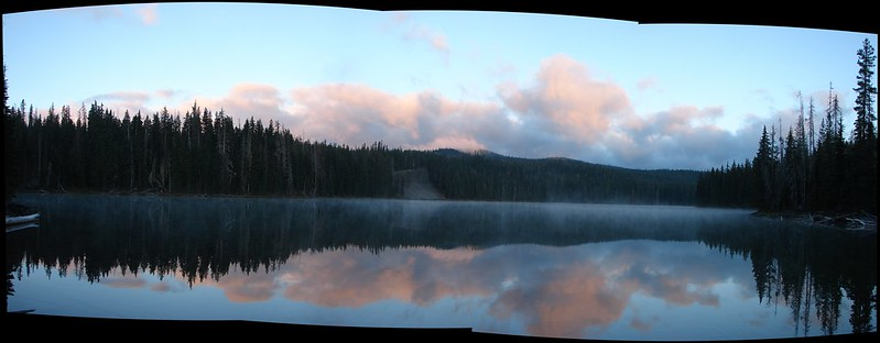 BLow Lake Sunrise