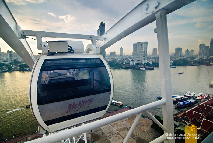 The Ferris Wheel at Bangkok's Asiatique The Riverfront