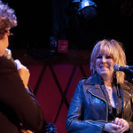 Wed, 01/10/2014 - 7:03pm - Lucinda Williams at Rockwood Music Hall in NYC, 10/1/14. Hosted by Rita Houston. Photo by Laura Fedele.