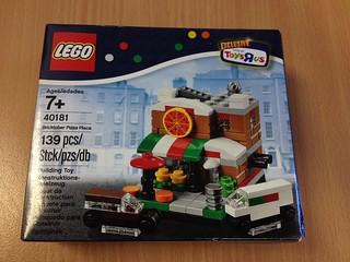 Lego 40181 Pizza Place - Bricktober Sets 2014