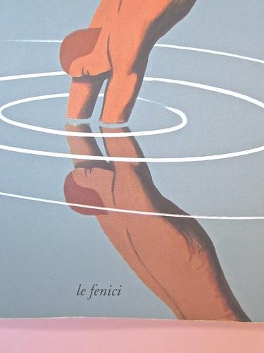 André Aciman, Chiamami col tuo nome. Guanda 2014. grafica di Guido Scarabottolo; illustrazione Giovanni Mulazzani. Copertina (part.), 2