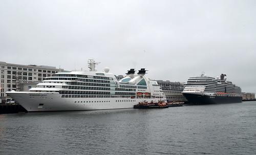 Seabourn Quest & Eurodam