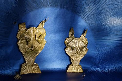 Origami 'Pan Mask' (Toyoaki Kawai)