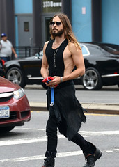 celebstarlets: 9/30/14 - Jared Leto out in NYC.
