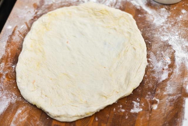 Hot Sopressata Pie