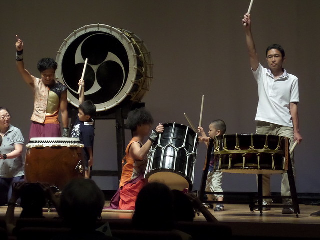 Little Wadaiko Player