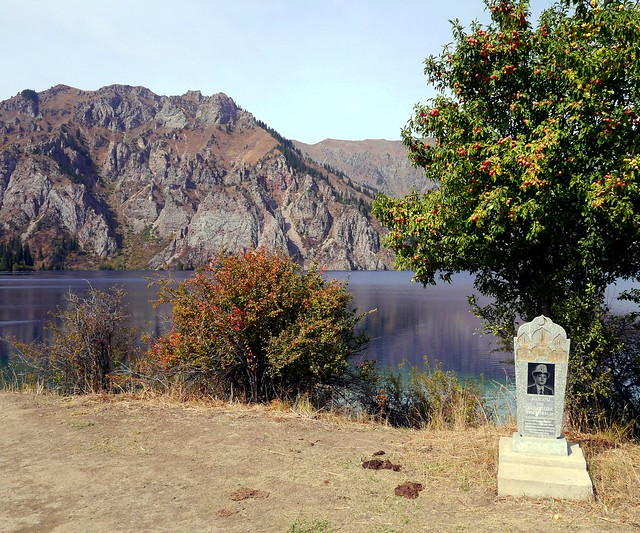 Grave by the Lake