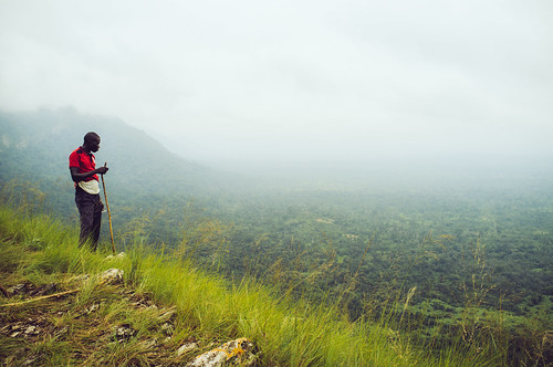 africa green waterfall outdoor hiking ghana togo