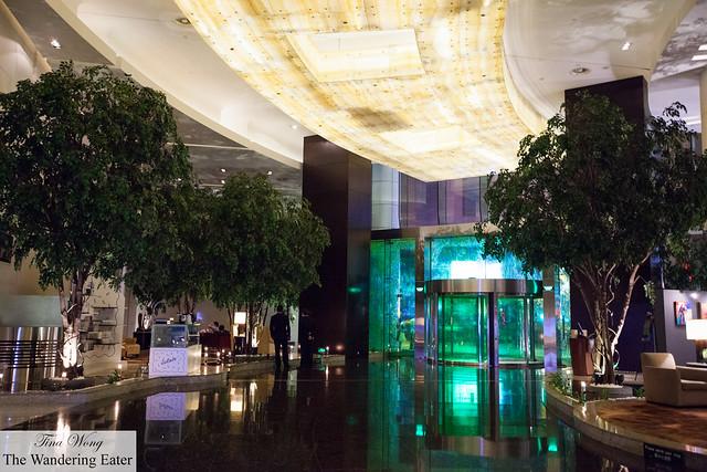 Lobby of Le Royal Méridien Shanghai