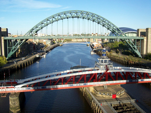 CITY BRIDGES NEWCASTLE UPON TYNE
