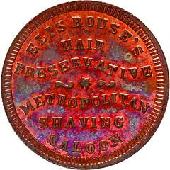 OH165FB Black issuer Civil war token