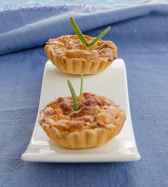Tartaletas de champiñones y serran (3)