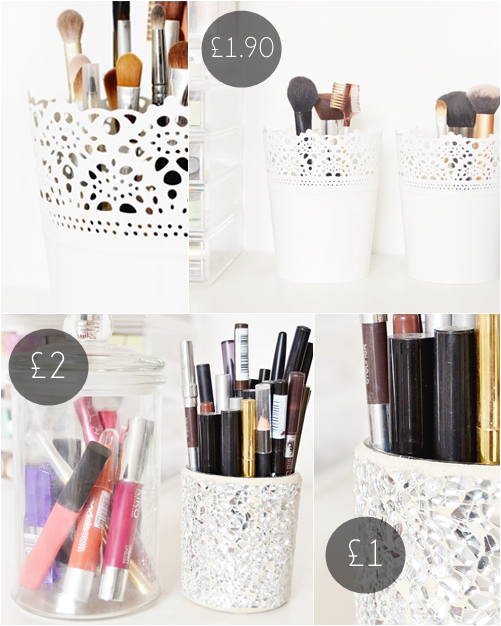 Under 2 makeup storage solutions makeup savvy makeup - Rangement maquillage fait maison ...