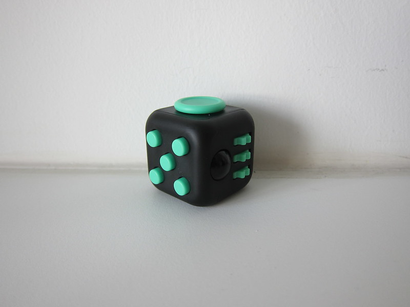 Fidget Cube - Green/Black