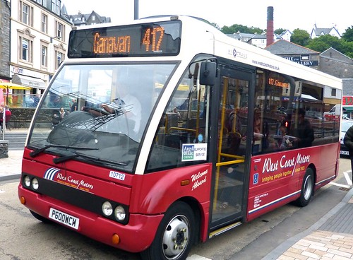 P600 WCM 'West Coast Motors' No. 10712 Optare Solo M710 on Dennis Basford's railsroadsrunways.blogspot.co.uk