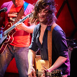 Wed, 22/02/2017 - 5:44pm - Old 97's - Rhett Miller, Murry Hammond, Ken Bethea, and Philip Peeples - perform for a lucky crowd of WFUV Members at Rockwood Music Hall in New York City, Feb. 22, 2017. Hosted by Carmel Holt. Photo by Gus Philippas