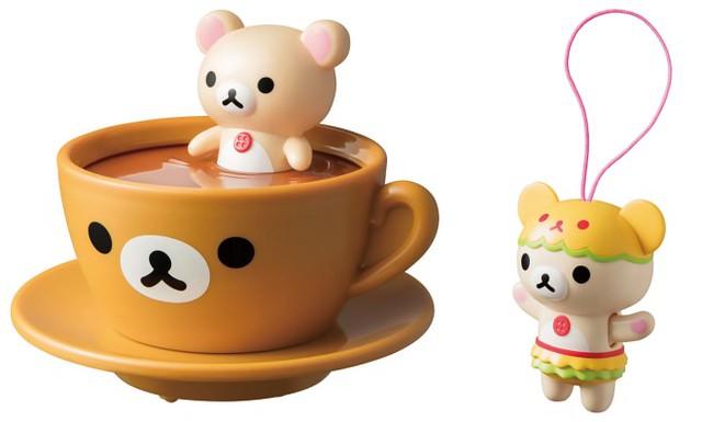 各種可愛機關萌死你~ 日本麥當勞快樂兒童餐推出「拉拉熊」系列玩具