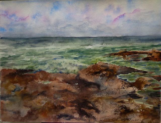 Rocas y Mar