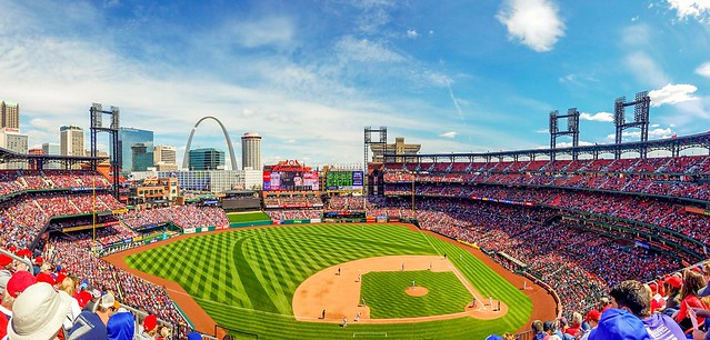 Beautiful day at the ballpark today!  Cubs win!