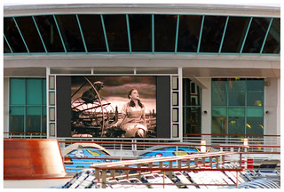 """""""Toto, we're not in Kansas anymore!"""" - Pool area, Mariner of the Seas"""