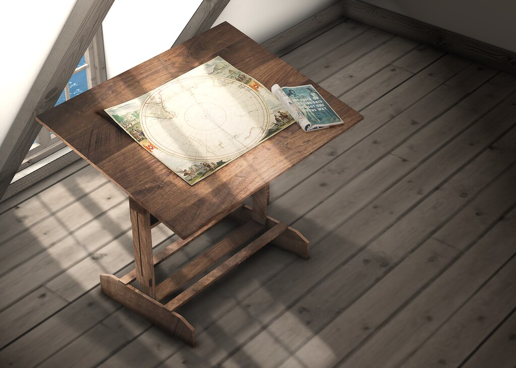 [DK] Picasso's Erotic Muse Art Desk (Adult) ?  poster2 - SecondLifeHub.com