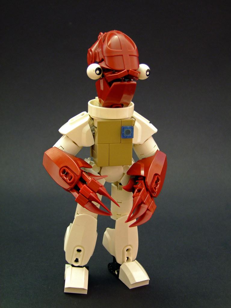Admiral Ackbar (custom built Lego model)