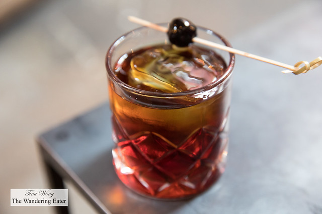 Lil' Hook - Redemption Rye, Cynar 70, punt e mes, maraschino