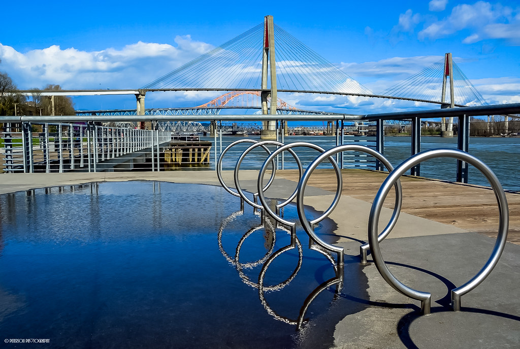 """Reflections"" at Westminster Pier Park - City of New Westminster, BC"