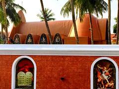 Mattancherry Koonan Kurish Old Syrian Church.         St. George Orthodox Koonan Kurish Old Syrian Church , Near Lobo jn., Pullupaalam Rd., Mattancherry, Kochi, Kerala 682002, India .+91 99461 20597