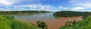 Dreiländereck Paraguay, Brasilien, Argentinien