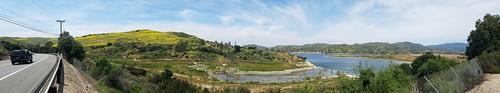 irvinelake irvine california photo digital spring meadows lake fence foothills panorama