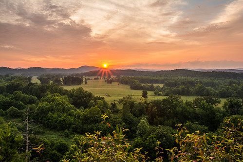 landscape sunset hotspringsvillage arkansas unitedstates