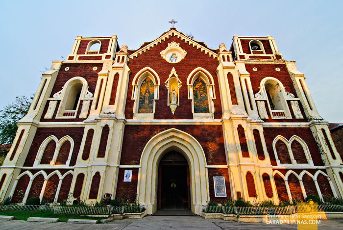 Bantay Church Facade