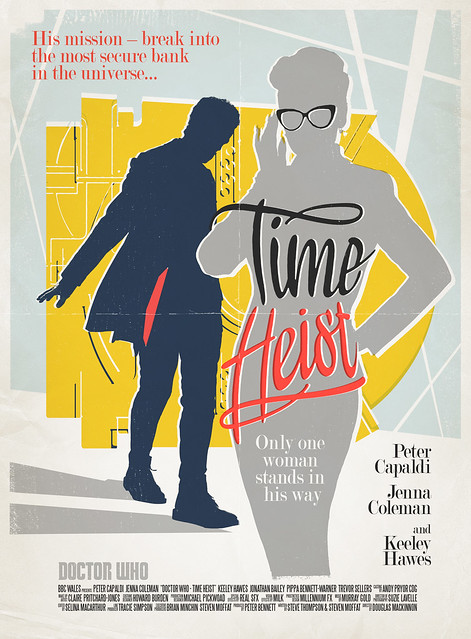 Doctor Who: Time Heist Retro Poster