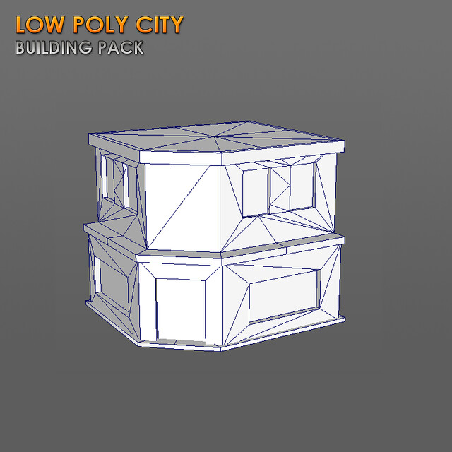 Low Poly City Building Pack — polycount