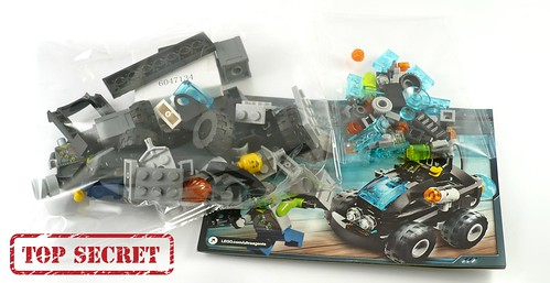 LEGO Ultra Agents 70160 Riverside Raid parts