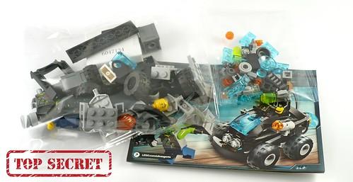 LEGO Ultra Agents 70160 Riverside Raid parts