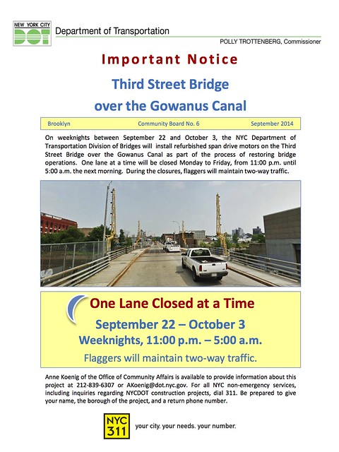 Gowanus, 3rd St Notice Sep14 copy