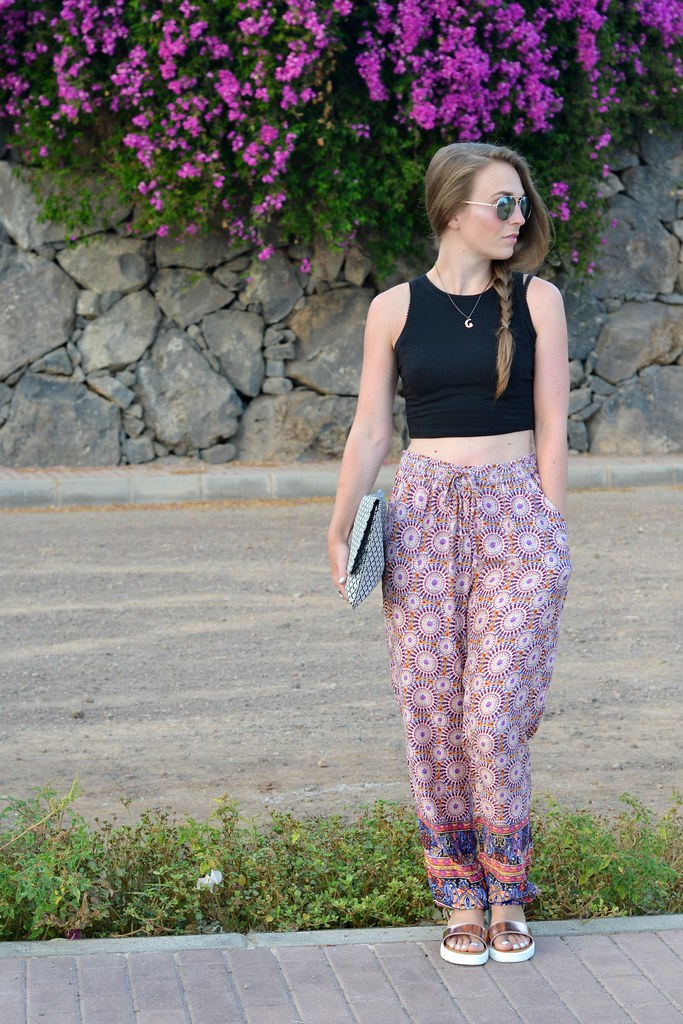 PRINTED PRIMARK TROUSERS 3