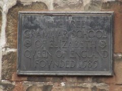 Photo of Elizabeth I of England bronze plaque