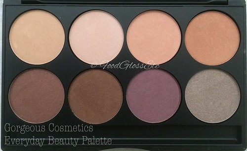 Gorgeous Cosmetics Everyday Beauty Palette #gceverydaybeautypalette