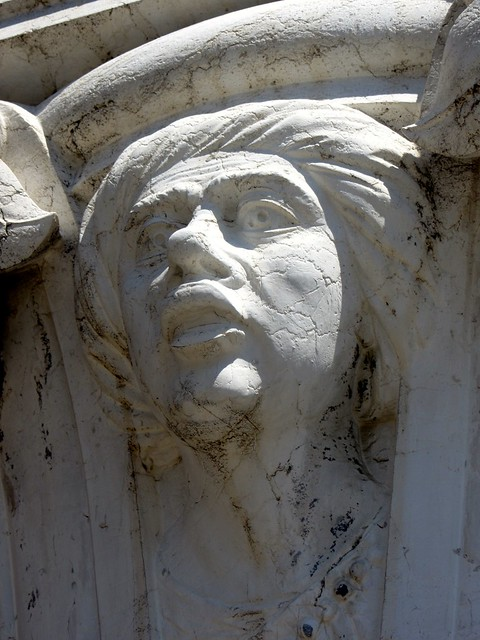 Striking Face Detail in the Ducal Palace