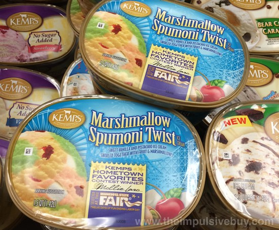 Kemps Hometown Favorites Contest Winner Marshmallow Spumoni Twist