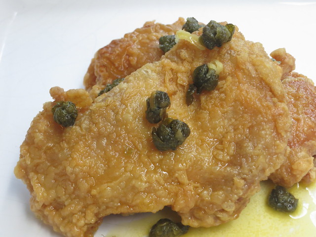 IMG_1730: DIY Chicken with Lemon Butter Sauce and Crispy Capers