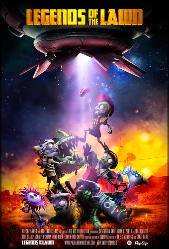 Plants vs Zombies Garden Warfare: Legends of the Lawn