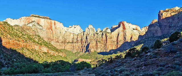 Sunrise, South Zion NP 5-14a